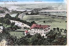24297 AK Dresden Niederwartha Wilhelmsburg Eisenbahn Gleise 1925 Cossebaude