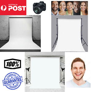 5x7ft Vinyl White Pure Photography Backdrop Background Studio Prop