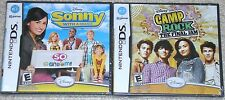 Nintendo DS Lot - Disney SONNY With A Chance CAMP ROCK