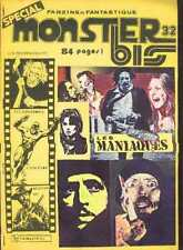 MONSTER BIS 32 Monstres cinema PSYCHO KILLERS Horror French Fanzine fantastique
