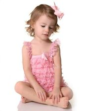 My Little Legs Lace & Satin Petti Rompers # 6-12 Months