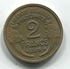 2 FRANCS  MORLON CUPRO ALU 1936
