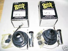 81-94 Ford Escort EXP Tempo Mercury Lynx Topaz LN7 Split Boot Kit Pair (2) NORS