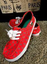 New Sanuk Boy's Slip On Shoes Moccasins in Size 2