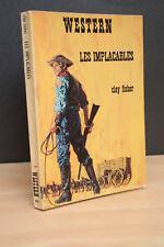 WESTERN N° 162 LES IMPLACABLES de Clay Fisher  (Masque Champs Elysées) 1976