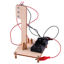 Science Toy Wooden Traffic Light Model Kits DIY Project School Teaching Aids