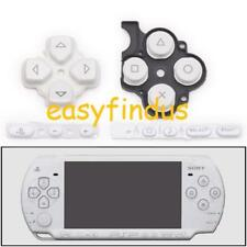 for PSP 3000 slim white Direction left right key pad Vol select button repair