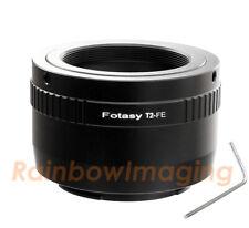 T Mount T2 Ring lens to Sony E-Mount A7 III A7R A7R II A7S III Camera Adapter