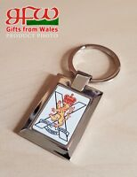 Royal Regiment of Scotland - high polished metal keyring