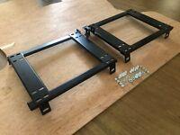 BRIDE RECARO Crank Motorsport Seat adapter rail suit BMW E30 Coupe and Sedan