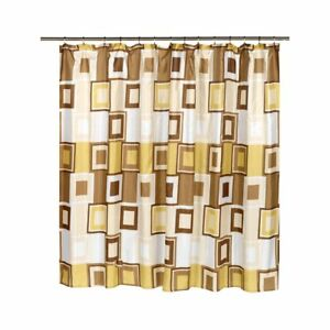 "Carnation Home Fashion""Contempo"" Extra wide shower curtain CAR-SC-FAB/108/CP"