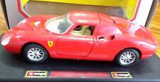 BBurago Ferrari 1965 250 Le Mans 1:24 Scale Die Cast Burago Pinifanini