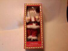 "Christmas Santa Moves And Plays Music 15"" Tall"
