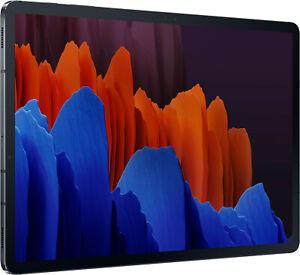 "SAMSUNG Galaxy Tab S7+ 5G 256GB Tablet-PC Schwarz 12,4"" - NEU PAYPAL HÄNDLER"