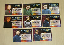 2014 Cryptozoic Ender's Game autograph 8-card lot