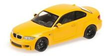 Bmw 1er Coupe' 2011 Yellow 1:43 Model MINICHAMPS