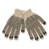 Boardwalk PVC-Dotted String Knit Gloves Large Dozen 792