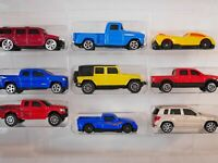 9 Premium Metal Diecast Vehicles Gift Pack by Maisto.1:64Scale.Diecast Cars Toy