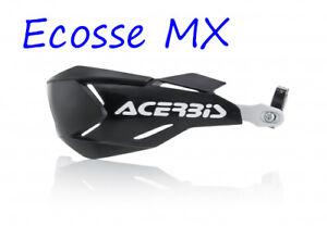 New Acerbis X-Factory Enduro Wrap Around Handguards Black/White EXC250 EXC300