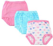 Gerber 3 Pack Training Pants, Girls, Heart Design
