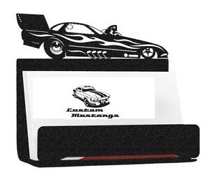 Top Fuel Funny Car Business Card Holder Alcohol Blown Hemi KB Drag Racing NHRA