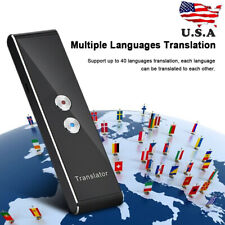 Bluetooth Voice Translation Smart Simultaneous Translator Device 40 Language