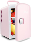 AstroAI Mini Fridge 4 Liter/6 Can AC/DC Portable Thermoelectric Cooler and Warme photo