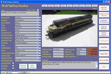 Model Railway Collection Image Database Software CDROM Windows 7/8/10 XP Vista