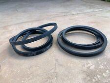 2 Pcs V Belts For Sicma Kioti First Choice Phoenix 72 Finish Mower 6722074