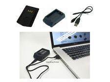 USB Ladegerätefür Sanyo Xacti VPC-FH1EBK VPC-HD1010BK VPC-HD2000EBK VAR-L50U