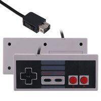 2x Nintendo NES Style Classic Controller for New NES Mini Console, Wii, Wii U