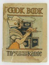 Antique Malleable Steel Range Catalog & Cookbook Pictures Description Vintage