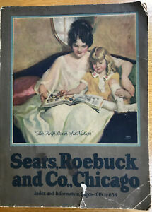 1923 SEARS, ROEBUCK and CO. CATALOG--CHICAGO