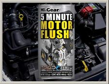 5 MINUTE ENGINE FLUSH REMOVES SLUDGE & CARBON PETROL DIESEL CARS