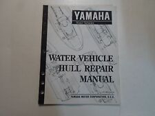 1995 Yamaha Water Vehicle Hull Repair Manual WATER DAMAGED FACTORY OEM BOOK ***