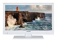 Telefunken XH20D101-W LED Fernseher 20 Zoll HD TV - Triple-Tuner DVB-T2/-S2 /-C