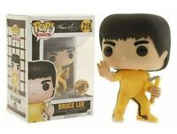 Funko pop chase bruce lee kung fu figure movies serie tv toys película action