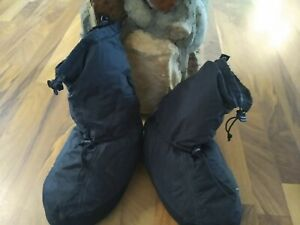 "Sierra Design Down Slippers/""Boots"" Sz M/L {approx  men's size 9/10}"