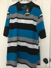 Brooklyn State Mens Casual Polo Shirt Sz 4XL MultiColor Clothes