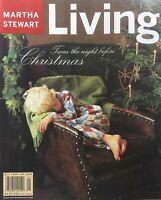 December 1998 and January 1999 Issue #65 of MARTHA STEWART LIVING Magazine
