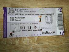 Ticket : RSC Anderlecht - KAS Eupen 23.02.2020