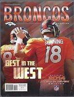 2014 NFL DENVER BRONCOS OFFICIAL TEAM FOOTBALL YEARBOOK - YEAR IN REVIEW