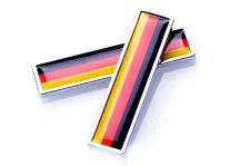 2X Germany Flag Car Badge Emblem Body side sticker Fender for Mercedes Benz BMW