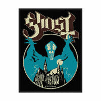 GHOST Opus Eponymous Woven Sew On Patch Official Licensed Band Merch