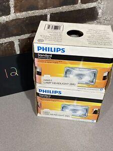 2 - Pack Headlight Bulb-Standard -ommercial Pack Philips H4651C1 HIGH BEAM SEAL