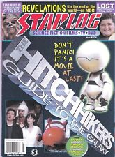 STARLOG # 334 MAGAZINE HORROR SCI-FI HITCHHIKER'S GUIDE TO THE GALAXY CHARMED