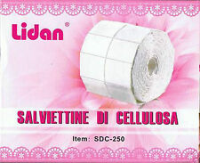 LIDAN PADS SALVIETTINE DI CELLULOSA ROTOLO DA 250 pz. 5 cm x 3.8 cm