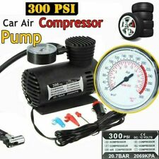 300psi 12V Mini Portable Electric Air Compressor Pump Car Tyre Inflator Air Pump