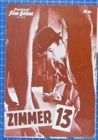 Zimmer 13 Illustrierte Film Bühne Nr.6733 B19295