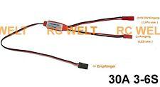 RC - Schalter Switch bis 3S-6S /30A elektronischer Schaltmodul LED´s usw. K-241